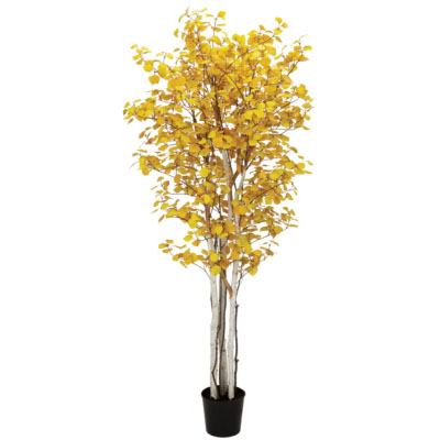 Aspen Tree 7' - Artificial Trees - Artificial fall colored trees for rent