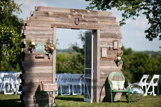 FOR SALE!  Authentic Walk through Barn with Swing Doors - Events & Themes - Unique Barn backdrop ideas