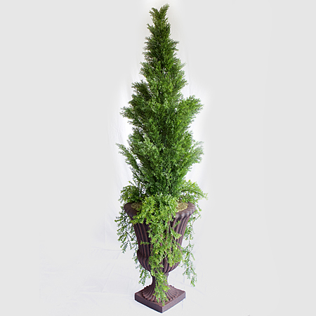 Arborvitae 6.8' - Artificial Trees - Stage Decor for speakers