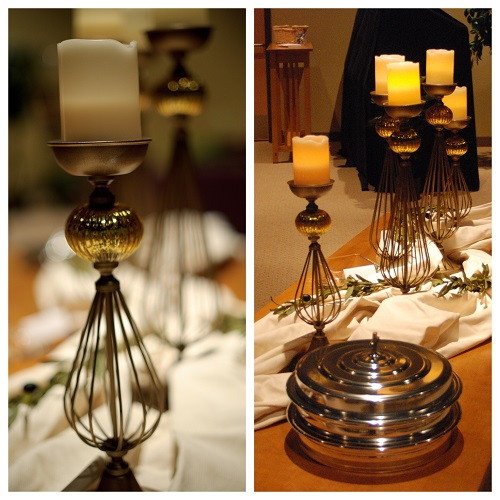Wedding Altar Candle Holders Set of 5 - Events & Themes