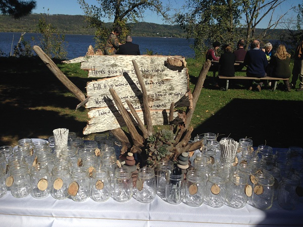 Wedding Drink Display - Idea Gallery - Unique Table Displays for drink glasses
