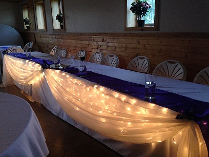Head Table Draping Idea - Idea Gallery - Head Table Wedding Decor Ideas