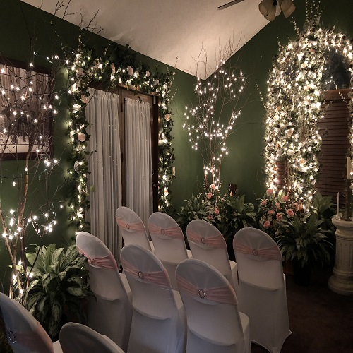 Small Beautiful Wedding's - Idea Gallery - Home Wedding decor ideas