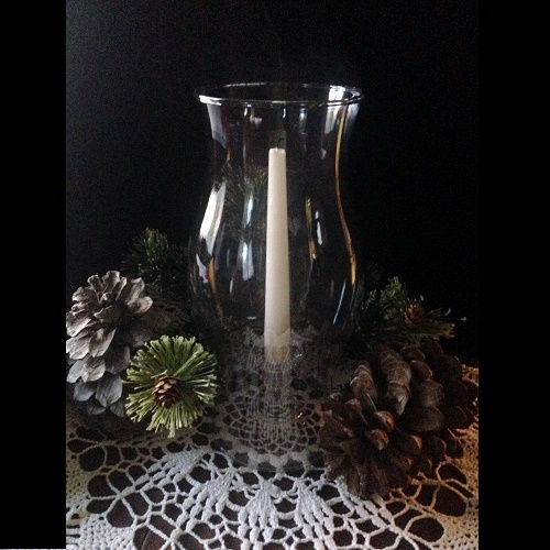 Hurricane Glass Sleeve - Centerpieces & Columns - glass hurricane sleeves for rent