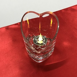 Heart Votive - Centerpieces & Columns - heart vases