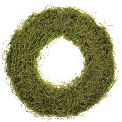 Artificial Moss Wreath - Artificial floral - Moss wreath table centerpiece for rent weddings