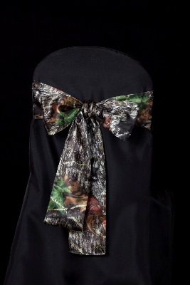 Mossy Oak Chair Sash - Events & Themes - Mossy Oak Wedding accessories