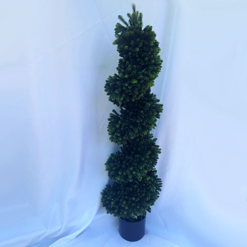 Spiral Topiary 4' - Artificial Trees & Floor Plants - topiary trees for rent