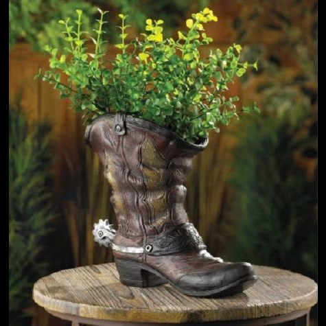 Cowboy Boot Centerpiece - Themed Rentals - Cowboy boot centerpiece base