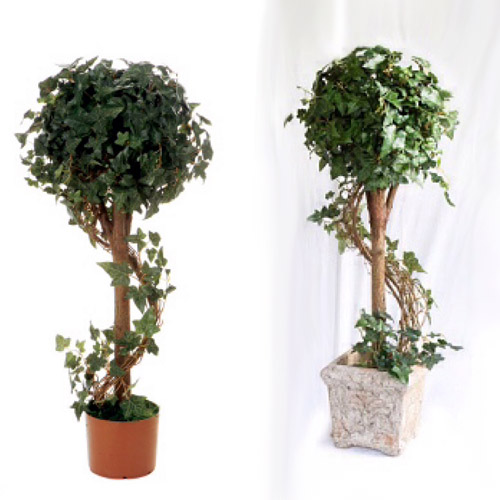 Boston Ivy Topiary 3' - Artificial Trees & Floor Plants - Topiary Rentals