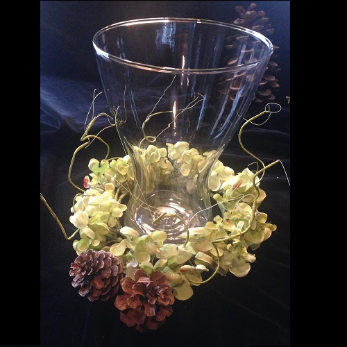 Clear Vase - Centerpieces & Columns - Inexpensive clear vases for rent Wedding