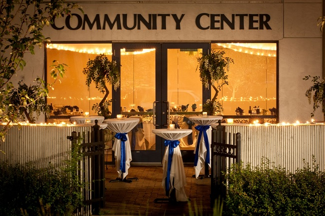 Outside your Community Center - Idea Gallery - Osseo Community Center Patio Weddings