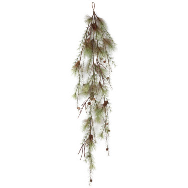5.5 foot Pine Twig Garland - Themed Rentals - Christmas decoration bulk sales