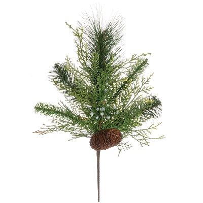 Mixed Pine Spray - Themed Rentals - Holiday greenery picks for centerpieces