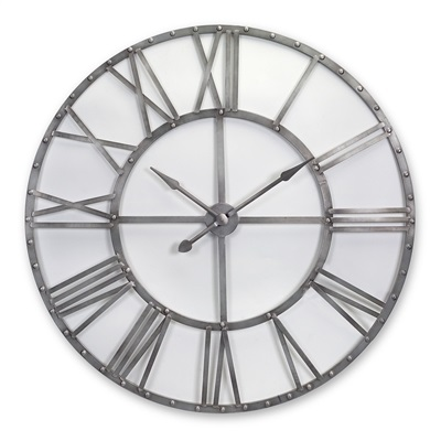 Oversized Metal Wall Clock - Events & Themes - Giant Wall Clock