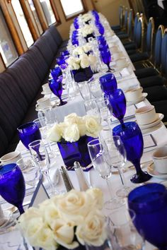 Cobalt Blue Wine Glass Rental - Events & Themes - Blue Wine Glass Rental