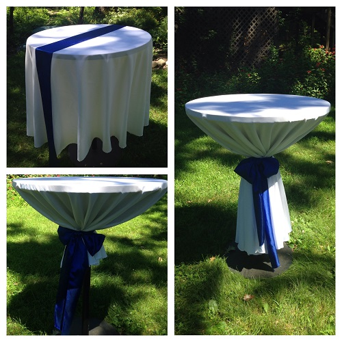 High Top Table - Events & Themes - beautiful hi top table
