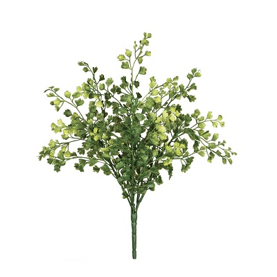 Maidenhair Fern Bush  - Artificial floral - artificial maidenhair fern spray