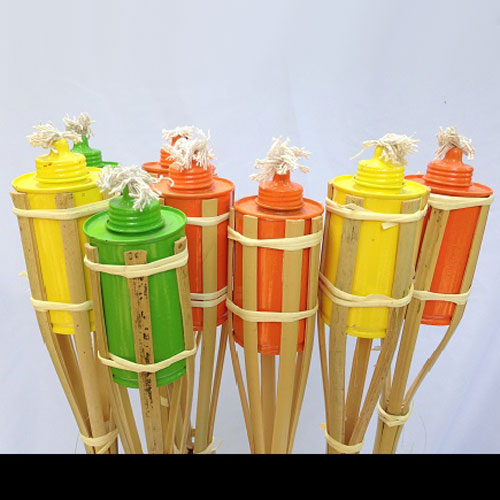 Mini Colored Party Torches  - Themed Rentals