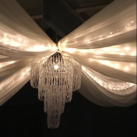Chandelier Rental - Events & Themes - Chandelier rental non electric with light set