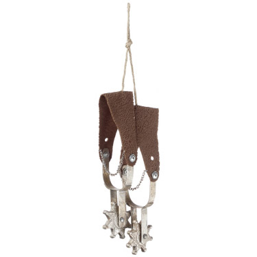 Spurs Ornament - Events & Themes - Cowboy Spurs hanging decoration