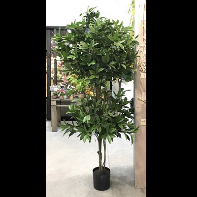 Shikibu Double Topiary 5' - Artificial Trees & Floor Plants - Most gorgeous executive topiary tree 5 foot