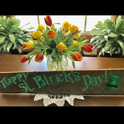 Happy St. Patricks Day! Sign - Events & Themes - rent a St. Patricks Day Sign decoration