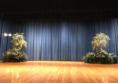 Stage Decor with Floral - Idea Gallery - Stage prop rentals