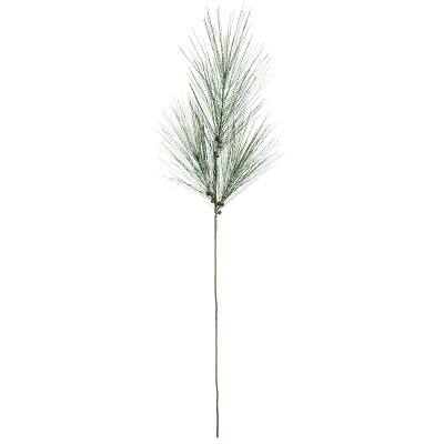 Pine With Snow Long Needle Branch - Large - Themed Rentals - artificial Christmas branches